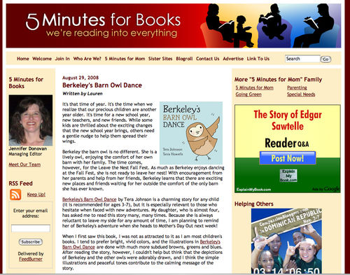 5 minutes for books.com