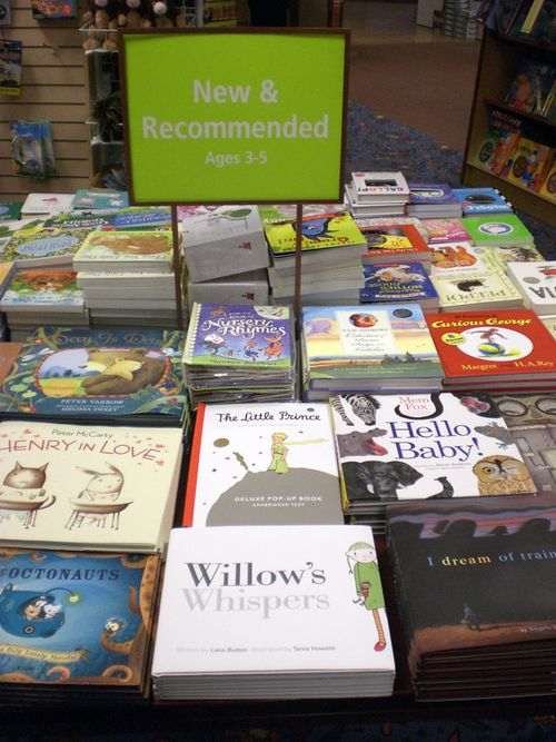 New and recommended table at Chapters